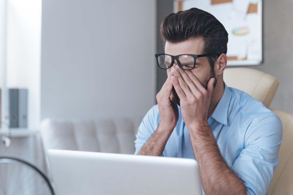 Усталость и ухудшение зрения за компьютером