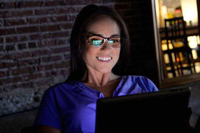 антибликовые очки для работы за компьютером