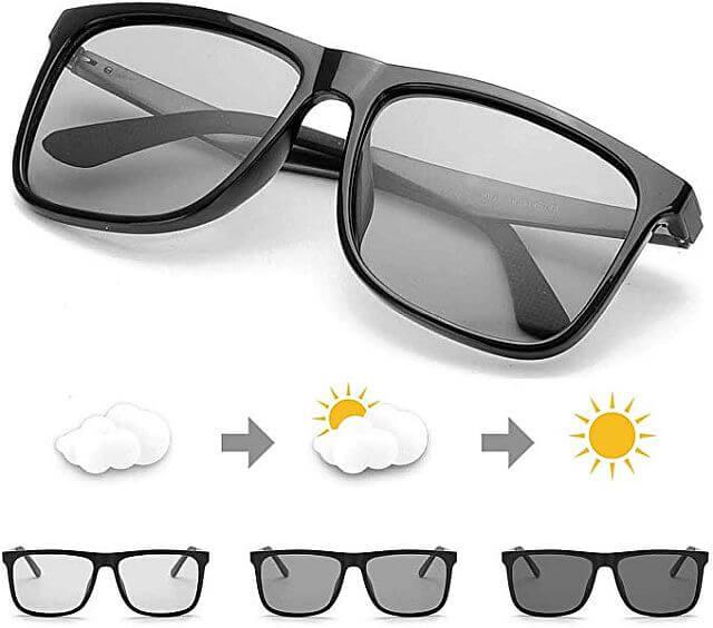 очки с фотохромным эффектом