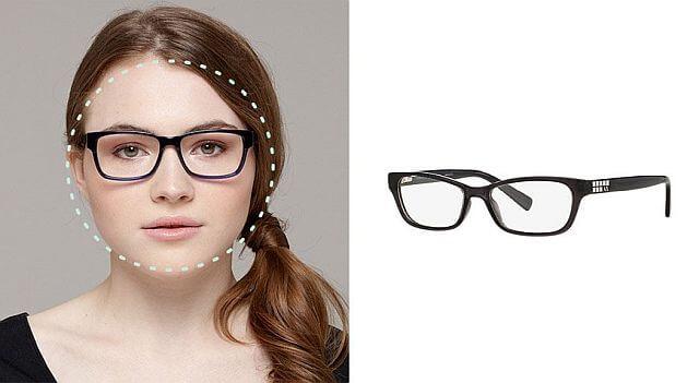 Очки для крулого лица, размеры