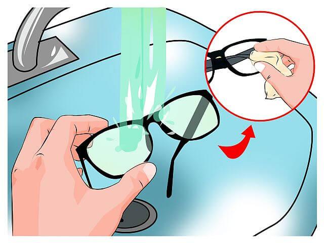 как ухаживать за очками правильно