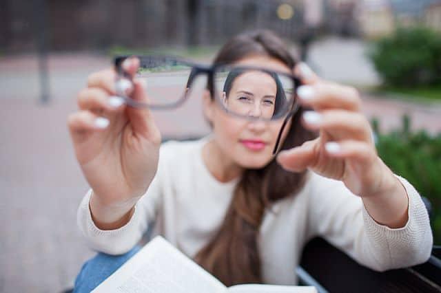 Сильные очки для зрения