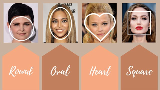 как определить форму лица для очков