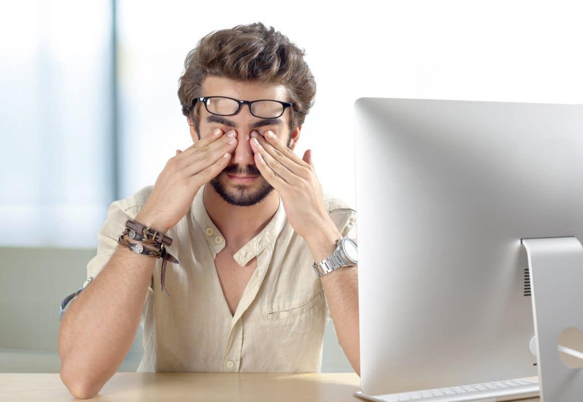 дискомфорт в новых очках