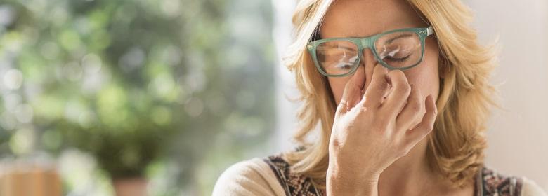 плохое самочувствие в новых очках
